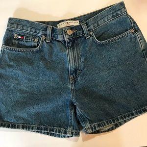 Tommy Vintage High Waisted Boyfriend Jean Shorts 6